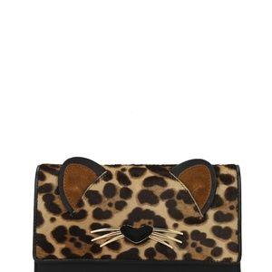 Kate Spade Run Wild Leopard Summer wallet